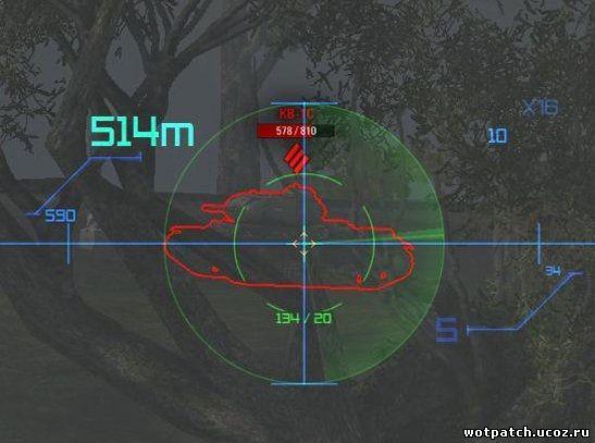 Прицелы для World of Tanks 0.9.1