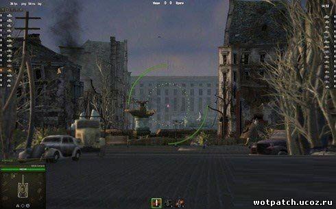 Убрать затмение в снайперском режиме World of tanks 0.9.1